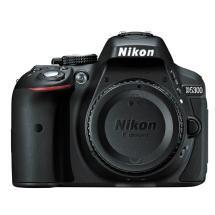 Nikon D5300 Digital SLR Camera Body (Black)