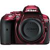 Nikon D5300 Digital SLR Camera Body (Red)