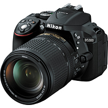 Nikon D5300 Digital SLR Camera with 18-140mm Lens (Black)