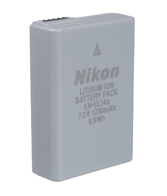 EN-EL14a Rechargeable Lithium-Ion Battery Image 0