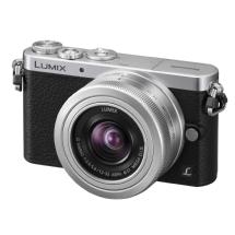 Panasonic Lumix DMC-GM1 Digital Camera with G Vario 12-32mm Lens (Silver)