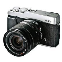 Fujifilm X-E2 Mirrorless Digital Camera with 18-55mm Lens (Silver)