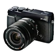 Fujifilm X-E2 Mirrorless Digital Camera with 18-55mm Lens (Black)