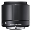 60mm f/2.8 DN Lens for Micro Four Thirds Mount Cameras (Black)