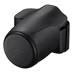 Genuine Leather Jacket Case for a7 or a7R Digital Camera (Black)