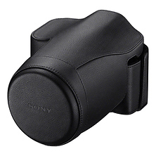 Genuine Leather Jacket Case for a7 or a7R Digital Camera (Black) Image 0