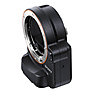 A-Mount to E-Mount Lens Adapter with Translucent Mirror Technology (Black)