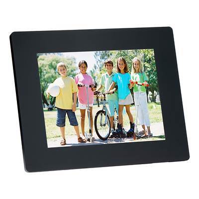 Sunpak 121 In Ultra Slim Digital Photo Frame Black Sf12122541sl