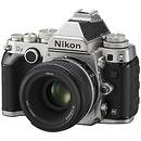 Nikon   Df Digital SLR Camera with 50mm f/1.8 Lens (Silver)   1528