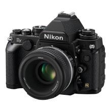 Nikon Df Digital SLR Camera with 50mm f/1.8 Lens (Black)