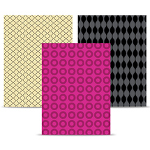 Westcott 3-Pack Modern Vintage Backdrop Bundle (9x12 ft., Sienna, Evanescence, Foxy)