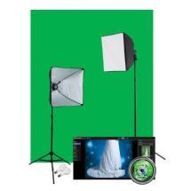 Westcott Illusions uLite Green Screen Photo Lighting Kit (Standard)