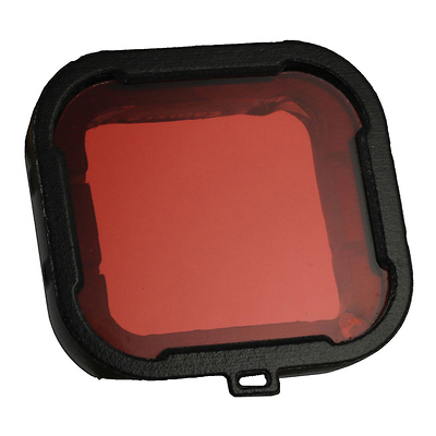 Red Glass Dive Filter for GoPro HERO3+ Housing Image 0