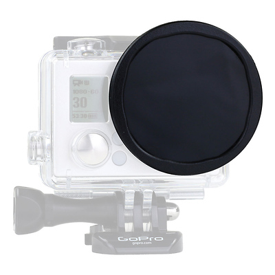 Glass Polarizer for GoPro HERO3+ Housing and Skeleton Frame Image 0