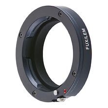 Adapter for Leica M Mount Lenses to Fujifilm X Mount Digital Cameras Image 0