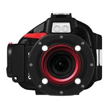 Olympus PT-EP05L Underwater Housing and E-PL3 Digital Camera with 14-42mm Lens Kit (Red)
