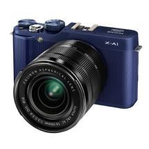 Fujifilm X-A1 Mirrorless Digital Camera with XC 16-50mm f/3.5-5.6 OIS Lens (Blue)