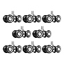 RW08 Camera Slider / Dolly RigWheels (8-Pack)
