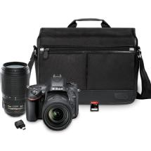 Nikon D610 Digital SLR Camera with NIKKOR 24-85mm and 70-300mm Lenses