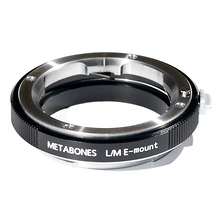 Leica M Mount Lens to Sony NEX Camera Lens Mount Adapter (Black) Image 0