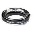 Leica M Mount Lens to Sony NEX Camera Lens Mount Adapter (Black)