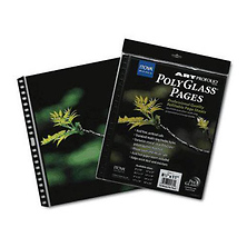 Art Profolio 17 x 22 In. Crystal Clear PolyGlass Pages (10 Sheets) Image 0