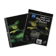 Itoya Art Profolio 17 x 22 In. Crystal Clear PolyGlass Pages (10 Sheets)