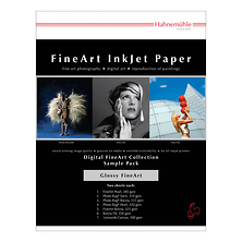 FineArt Glossy Inkjet Paper Sample Pack (8.5 x 11 In., 14 Sheets) Image 0