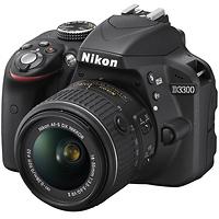 Nikon D3300 Digital SLR Camera with 18-55mm VR II Lens (Black)