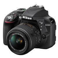 Nikon | D3300 Digital SLR Camera with 18-55mm VR II Lens (Black) | 1532
