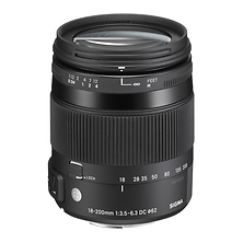 18-200mm f/3.5-6.3 DC Macro OS HSM Lens For Nikon Digital Cameras Image 0