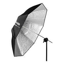 Shallow Silver Umbrella (Medium, 41. In) Image 0