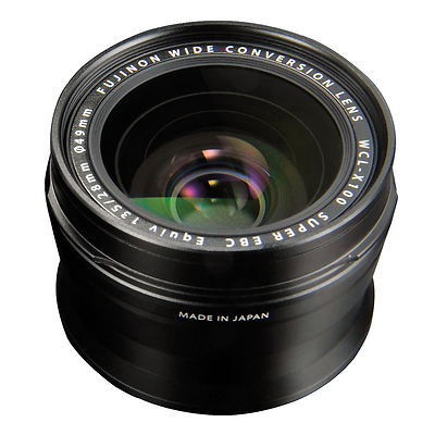 WCL-X100 Wide-Angle Conversion Lens for X100 Camera (Black) Image 0