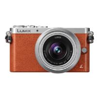 Panasonic | Lumix DMC-GM1 Digital Camera with G Vario 12-32mm Lens (Orange) | DMCGM1KD