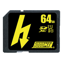 64GB SDXC Class 10 H Line UHS-1 Memory Card Image 0