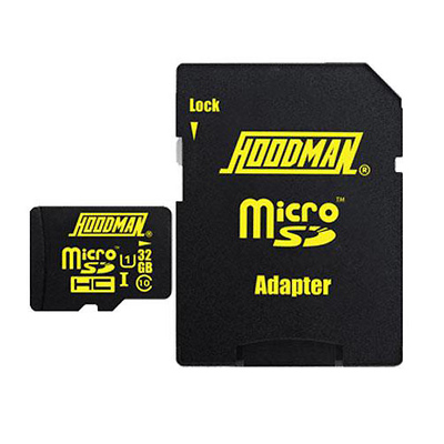 32GB Micro SDHC Memory Card with Adapter Image 0