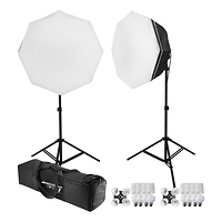 Westcott uLite 2 Light Octabox 200W Fluorescent Kit
