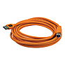 Pro SuperSpeed USB 3.0 Male A to Male B 15 ft. Cable (Orange)