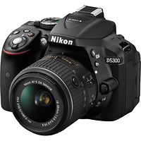 Nikon | D5300 DSLR Camera with 18-55mm Lens (Black) | 1522