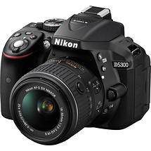 Nikon D5300 DSLR Camera with 18-55mm Lens (Black)