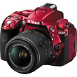 D5300 DSLR Camera with 18-55mm Lens (Red)