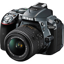 Nikon | D5300 DSLR Camera with 18-55mm Lens (Gray) | 1524
