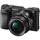Sony a6000 Mirrorless Digital Camera with 16-50mm Lens (Black)