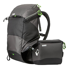rotation180° Panorama Backpack (Charcoal) Image 0