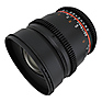 16mm T/2.2 Cine Lens for Canon EF