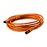 15 ft. TetherPro FireWire 800 9-Pin to 9-Pin Cable (Orange)