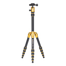MeFOTO | BackPacker Travel Tripod (Yellow) | A0350Q0Y