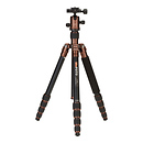 MeFOTO | RoadTrip Aluminum Travel Tripod Kit (Chocolate) | A1350Q1E