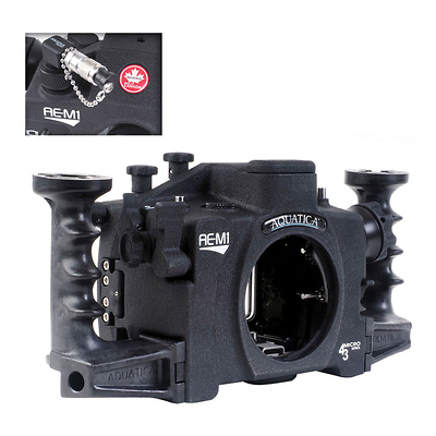 Underwater Housing for Olympus OM-D E-M1 Camera With Vacuum Image 0