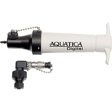 Vacuum Valve and Extracting Pump for Select Underwater Camera Housings Image 0